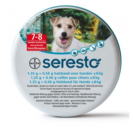 Collier Seresto pour chien - Anti-tiques et anti-puces