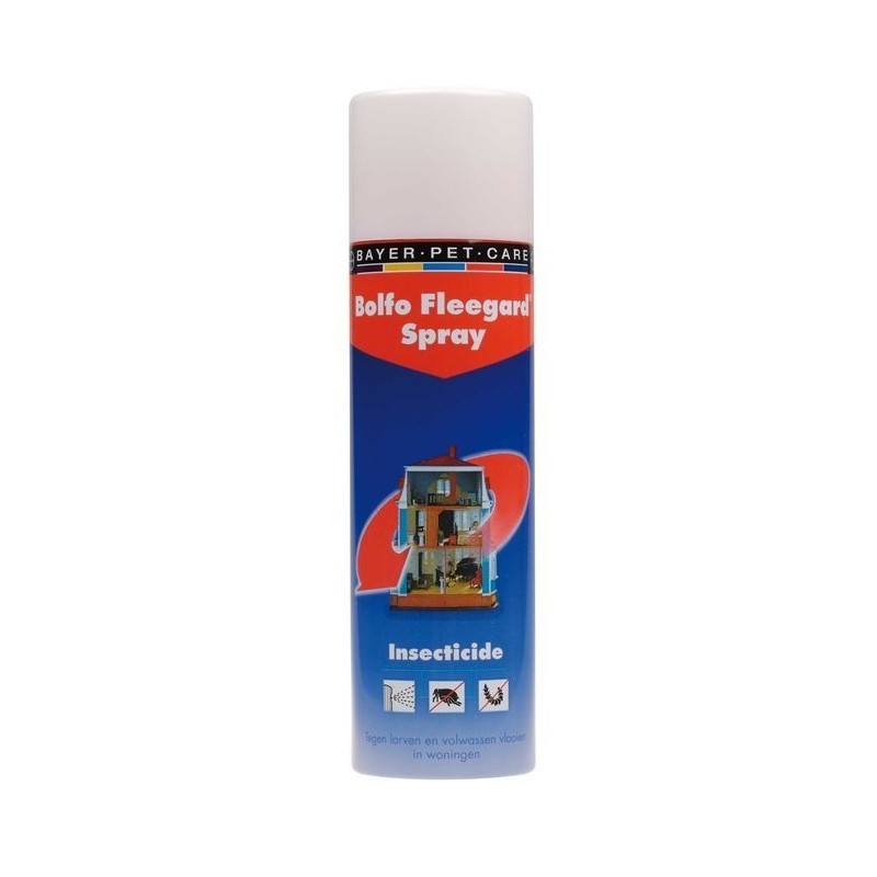 bolfo fleegard spray a rosol antipuces pour l habitat bayer direct vet. Black Bedroom Furniture Sets. Home Design Ideas