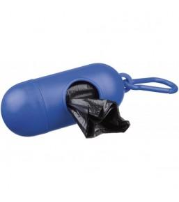 Capsule pour sacs à déjection canine