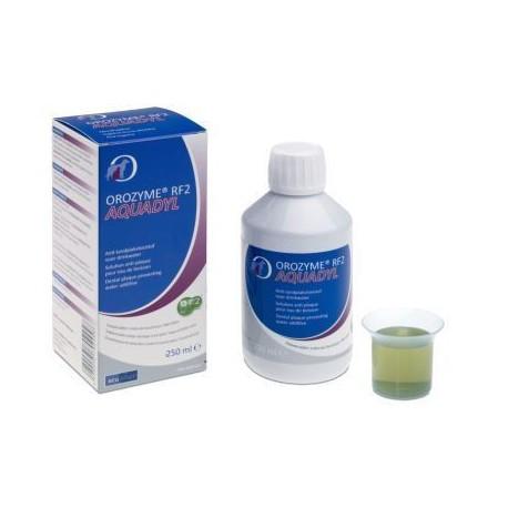 Orozyme RF2 Aquadyl - Solution anti-plaque pour chien et chat