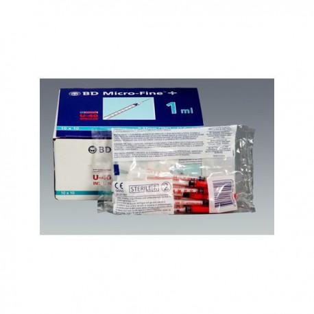 Seringues à insuline BD Micro-Fine 40-UI pour chiens et chats