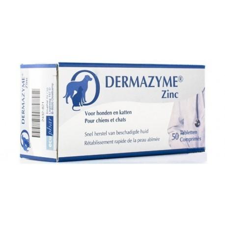Dermazyme Zinc - Complément alimentaire pour chien et chat