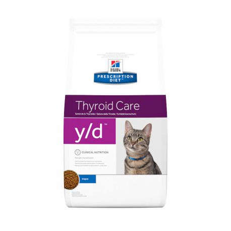 Hill's Prescription Diet y/d Feline - Croquettes