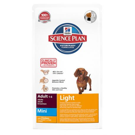 Hill's Science Plan Canine Adult Light Mini - Croquettes