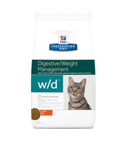 Hill's Prescription Diet w/d Feline - Croquettes