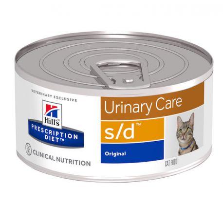Hill's Prescription Diet s/d Feline émincé au foie - Boîtes