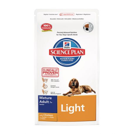 Hill's Science Plan Canine Mature Adult 7+ Light
