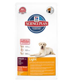 Hill's Science Plan Canine Adult Light Large Breed - Croquettes