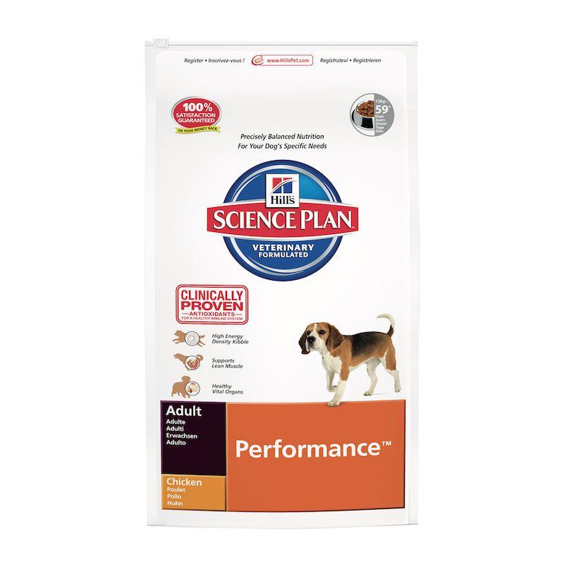 science plan canine adult performance croquettes pour les chiens adultes a. Black Bedroom Furniture Sets. Home Design Ideas