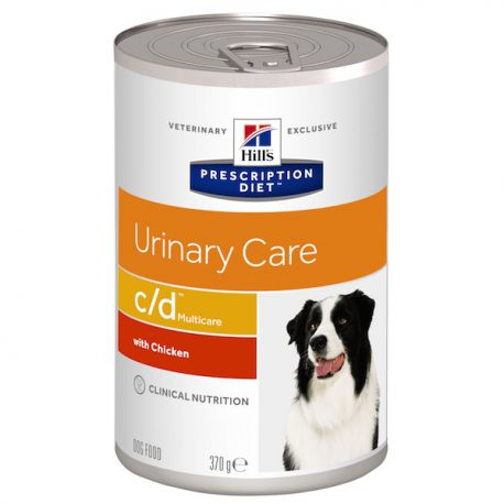 Hill's Prescription Diet C/D Canine - Boîtes de 12x370 g