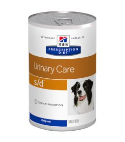 Hill's Prescription Diet S/D Canine - Boîtes de 12x370 g