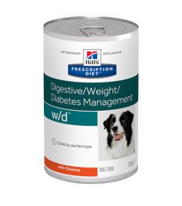 Hill's Prescription Diet W/D Canine - Boîtes
