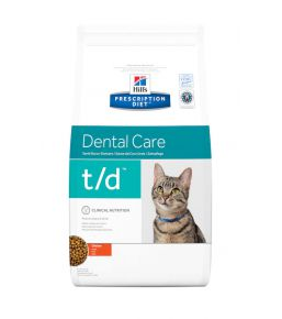 Hill's Prescription Diet t/d Feline - Croquettes