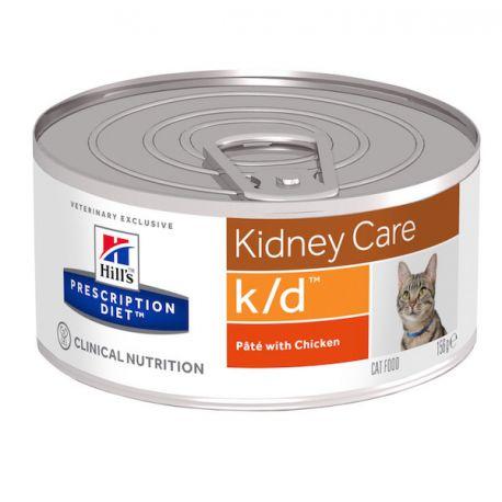 Hill's Prescription Diet k/d Feline émincé au poulet - Boîtes