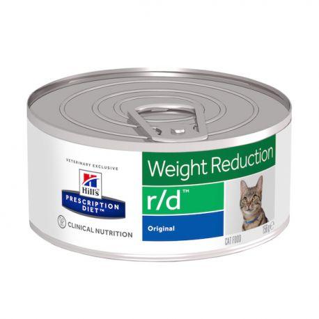 Hill's Prescription Diet r/d Feline émincé au foie - Boîtes
