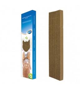 Griffoir carton avec herbe à chat