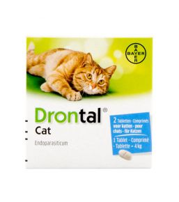 Drontal - Vermifuge pour chat