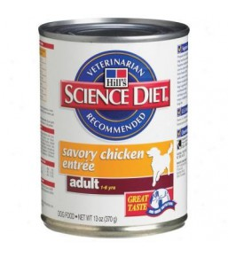 Hill's Science Plan Canine Adult Savoury Poulet - Boîtes