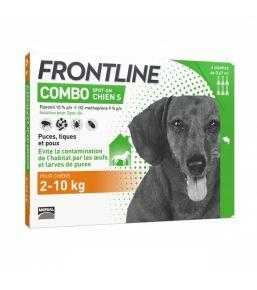 Frontline Combo Chien - Pipettes antipuces et antitiques
