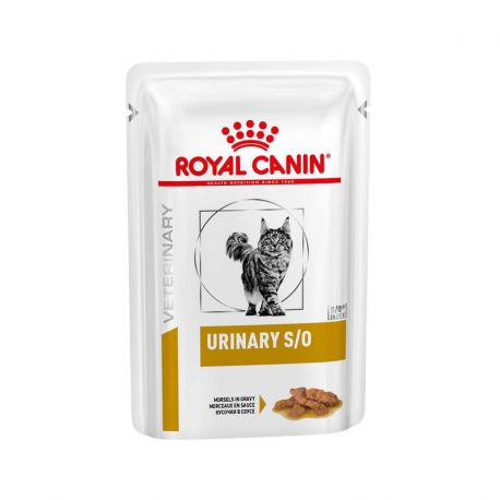 Royal Canin Urinary S/O chat - Morceaux en sauce