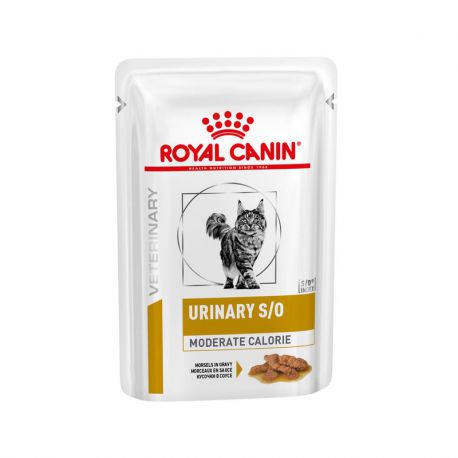 Royal Canin Urinary S/O chat - Moderate Calorie - Sachets fraîcheurs