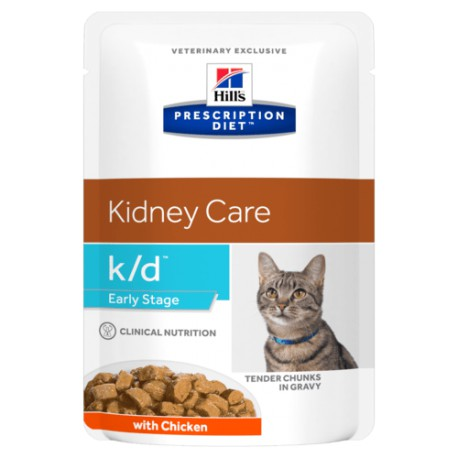 Hill's Prescription Diet k/d Feline Early Stage - Sachets