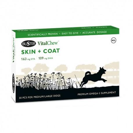 VitalChew SKIN + COAT - Soutien de la peau et du pelage des chiens