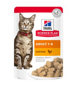 Hill's Science Plan Chat Adulte au Poulet Sachet Repas