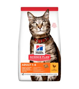 Hill's Science Plan pour Chat Adulte au Poulet - Croquettes