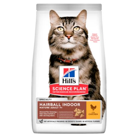 Hill's Science Plan Chat Mature Hairball Indoor