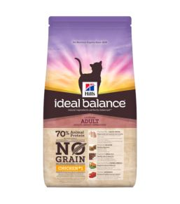 Hill's Ideal Balance Feline Adult No Grain Poulet Pomme de terre