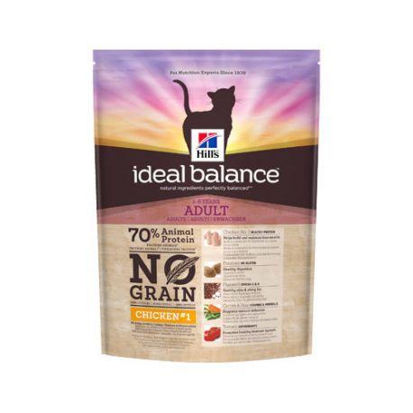 Hill's Ideal Balance Feline Adult No Grain - Croquettes pour chat