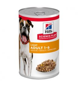 Hill's Science Plan Canine Adult Light - Boîtes