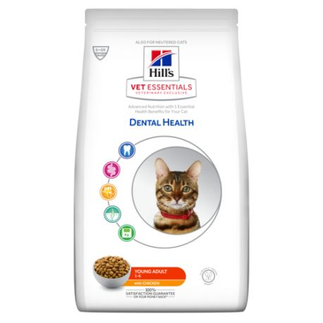 Hill's VetEssentials Dental Health Feline Young Adult pour Chat adulte
