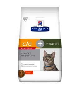 Hill's Prescription Diet c/d Feline Urinary Stress + Metabolic - Croquettes