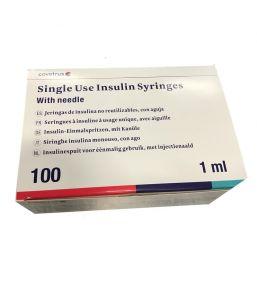 Seringues à insuline U40 Covetrus pour chiens et chats