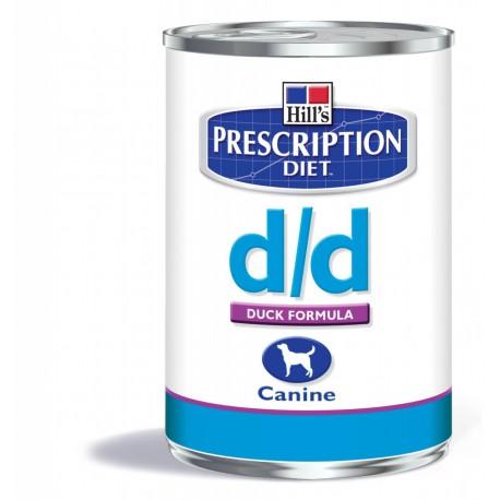 Hill's Prescription Diet D/D Canine Canard (boîte)