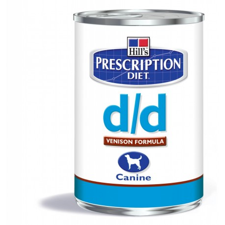 Hill's Prescription Diet D/D Canine Gibier (boîte)