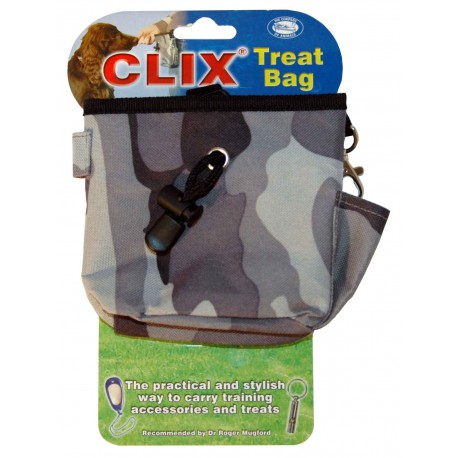 Clix - Sacoche Treat Bag pour friandises CAMOUFLAGE