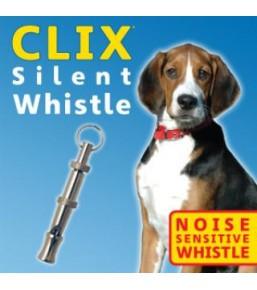 Clix - Sifflet silencieux pour chien