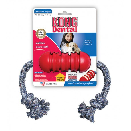 Kong - Dental SMALL MEDIUM avec corde