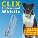 Clix - Sifflet professionnel pour chien
