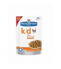Hill's Prescription Diet k/d Feline Sachets au Poulet