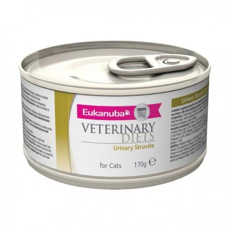Eukanuba Veterinary Diets Urinary Struvite Cat Boîtes 170g