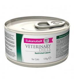 Eukanuba Veterinary Diets Restricted Calorie Cat Boîtes 12x170 g