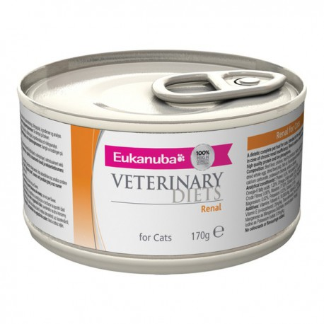 Eukanuba Veterinary Diets Renal Cat Boîtes 12 x 170 g